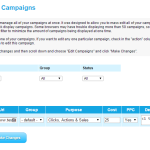 Manage Multiple Campaigns